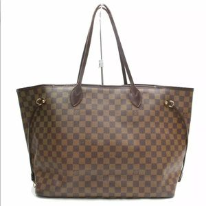Louis Vuitton Neverfull GM Damier Tote Bag Purse
